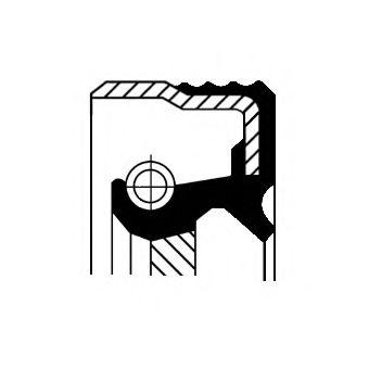 Сальник коробки передач  арт. 12015267B