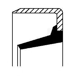 Зубчатый диск импульсного датчика, противобл. устр.  арт. 01034759B