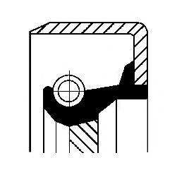 Уплотняющее кольцо, ступенчатая коробка передач  арт. 12011441B