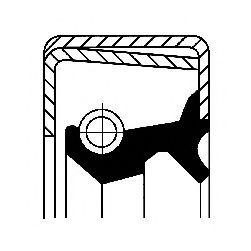 Уплотняющее кольцо, ступица колеса  арт. 12011411B