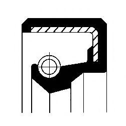 Уплотняющее кольцо, коленчатый вал, Уплотняющее кольцо, раздаточная коробка  арт. 12010895B