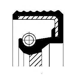 Сальник КПП Corteco  арт. 01031573B