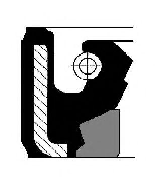 Сальник ГУР 32,0X44,5X8,5 BAFSFX2 (пр-во Corteco)                                                    CORTECO 01026516B