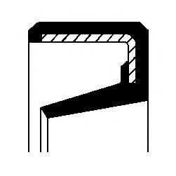 Поворотный кулак Уплотнительное кольцо, поворотного кулака CORTECO арт. 01030541B