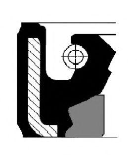 Сальник кермової рейки  CORTECO 01019875B
