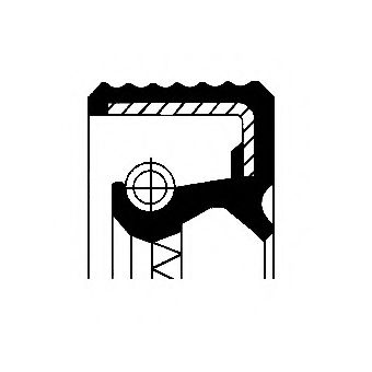 084409189B Сальник КПП Corteco (48x62x7)  арт. 12015555B