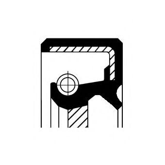Сальник коленвала Corteco  арт. 12011842B