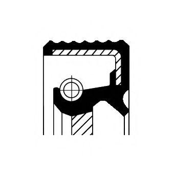 Сальник коленвала  арт. 20026412B