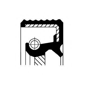 Сальник коленвала  арт. 20033412B