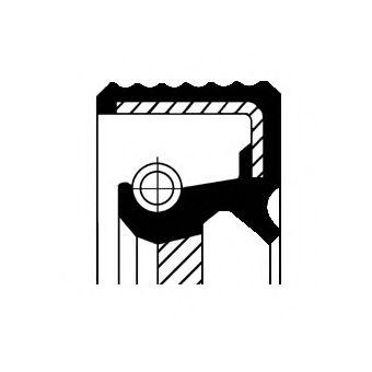 Уплотняющее кольцо вала, фланец ступенчатой коробки передач FIAT 36x54x10/13,5 ACM  (пр-во Corteco)   арт. 12036825B