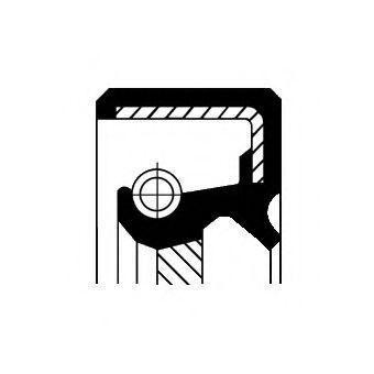 Сальник гумометалевий  арт. 12000635B