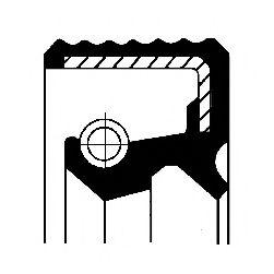 Сальник кермової рейки (19,05x34,6x4,4/5,9) CORTECO 12015526B