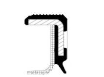 Сальник FRONT FORD, PSA 35X50X7/AW RD PTFE (пр-во Corteco)                                            арт. 15027932B