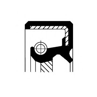 Уплотняющее кольцо, ступенчатая коробка передач  арт. 19027850B