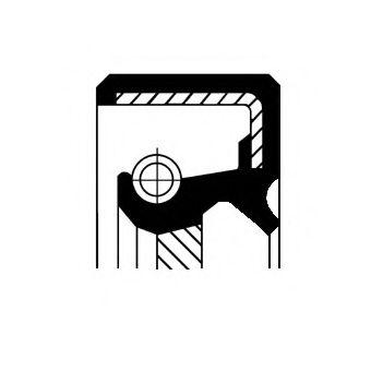 Уплотняющее кольцо, ступенчатая коробка передач, Уплотняющее кольцо вала, автоматическая коробка передач  арт. 19026202B