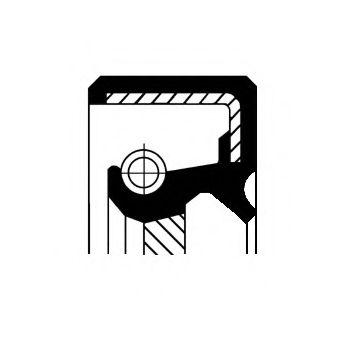 Уплотняющее кольцо вала, автоматическая коробка передач, Уплотняющее кольцо, дифференциал  арт. 19035229B