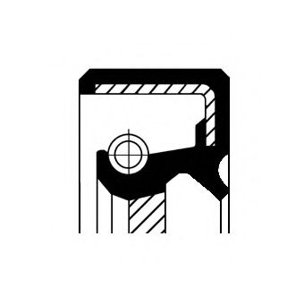 Сальник гумометалевий  арт. 19034980B