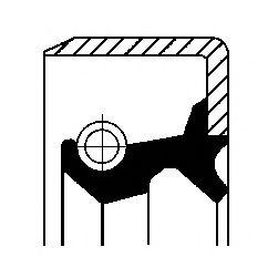Сальник приводного валу  арт. 19027839B