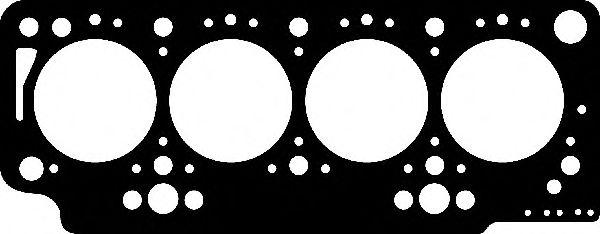 Прокладка головки блока цилиндра RENAULT F8Q 1.50MM 1R FIBER (пр-во Corteco)                         ELRING арт. 414329P