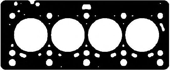 Прокладка головки блока RENAULT K9K 1.5DCI 8V MLS (пр-во Corteco)                                    ELRING арт. 415244P