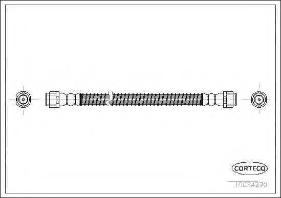 Тормозной шланг FEBIBILSTEIN арт. 19034270