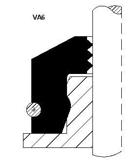 Колпачок маслосъёмный  арт. 12015876