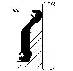 Сальник клапана IN/EX FORD TRANSIT 2.5D (VA7 9-13 ACM) (пр-во Corteco)                                арт. 12012351
