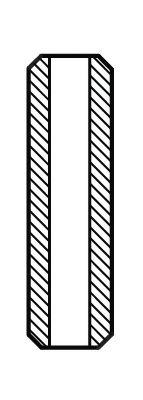 Направляющая клапана Направляющая втулка клапана ALFA/FORD/PERKINS 1.8D 69- AE арт. VAG586