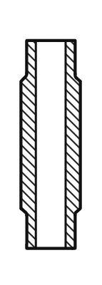 Направляющая клапана IN MAN D0226/D0824/D0826 (16,05X10,02X60) (пр-во AE)