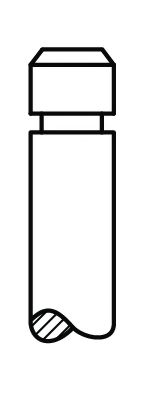 Клапан EX MAN D25../D28../D2876 2V (51X12X142.5) (пр-во AE)