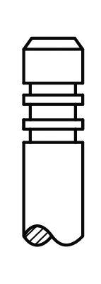 Клапан впускной MAN D2066/D2676 9х44х153.6 (51.04101.0523)(пр-во AE) AE V95005