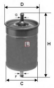Топливный фильтр  арт. S1500B