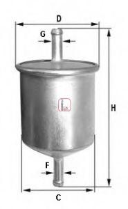 Топливный фильтр  арт. S1529B