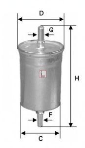 Топливный фильтр  арт. S1844B