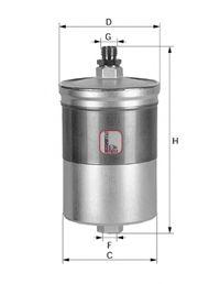Фільтр паливний - знято з виробгицтва  арт. S1900B