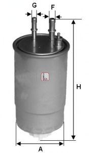 Топливный фильтр  арт. S1ONENR