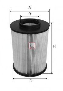 Воздушный фильтр  арт. S2722A