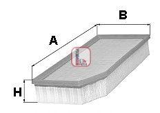 Воздушный фильтр  арт. S3251A
