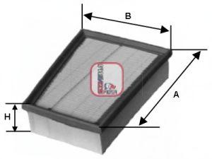 Воздушный фильтр  арт. S3310A