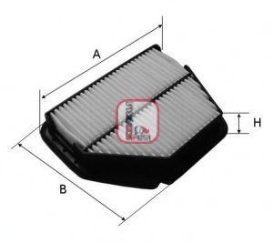 Воздушный фильтр  арт. S3392A