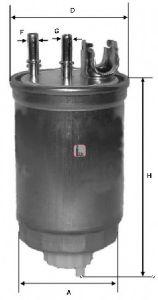 Фільтр палива SOFIMA S4412NR