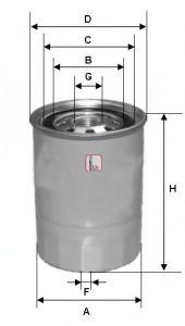 SOFIMA Фильтр топливный диз. MITSUBISHI Pajero 2,5/3,2D, Canter 3,0/3,9D SOFIMA S4423NR