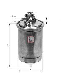 Фільтр палива SOFIMA S4430NR