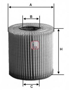 Масляный фильтр  арт. S5034PE