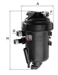 Фільтр палива SOFIMA S5148GC