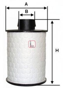 Фільтр палива  арт. S6H2ONE