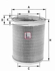 Воздушный фильтр  арт. S7606A