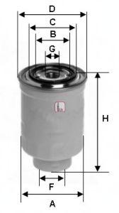 Топливный фильтр  арт. S9310NR