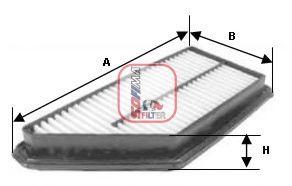 Фiльтр повiтряний  арт. S3574A