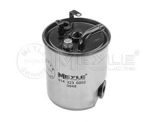 Фильтр топлива MERCEDES SPRINTER 216 CDI mot. OM611 04/00- MEYLE 0143230002